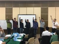 吴湘洪老师11月21-22日应邀为龙岩移动分享的《正能量与责任》课程圆满结束!