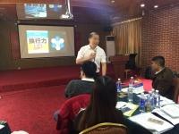 吴湘洪老师11月28日在韶关给中国石化销售公司讲授的《100%责任与高效执行》课程圆满结束!