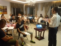莫勇波老师2016年8月11日为长春方正集团讲授《问题分析与解决》课程圆满结束!