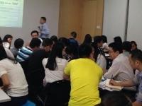 申明江老师2015年10月31日东江集团讲授《采购从业综合技能训练》课程