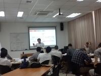 申明江老师2015年12月1-2日惠州大亚湾核电站讲授《供应链管理实务》课程