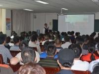 臧其超老师4月25日-26日为新疆EMBA讲授《企业转型升级》总裁班