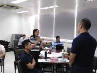 孙玮志老师2016年9月23日给广州电信讲授的《爱上文案——如何写出有销售力的广告文案》课程圆满结束!