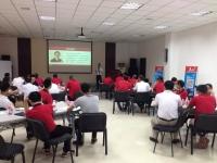 2016年5月23日张方金老师给广东华山泉集团有限公司讲授《区域市场规划与有效开发》