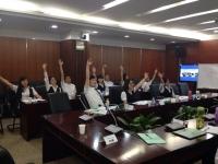钟滔老师2016年6月21日在深圳中航物业讲授《思维导图在职场中的应用》课程