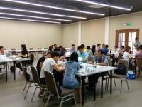 钟滔老师2016年8月26日为广东溢达纺织讲授《思维导图在职场中的应用》课程圆满结束!