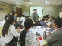 2016年11月14日钟滔老师为华润万家讲授一期《创新思维思维导图》课程