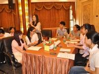 文彬老师9月25号为苏州SMI讲授《服务营销》课程