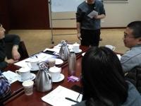 2016年12月9日郑秀宝老师为北京巴威公司讲授《创新管理与管理创新》课程