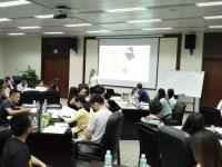 莫勇波老师2016年8月26日为广州广业学院讲授《管理创新》课程完美结束!