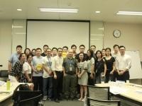 莫勇波老师2016年8月30日为深圳某通讯公司讲授《创新思维及创新工具》课程完美结束!