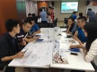莫勇波老师2016年7月13日为北京某科院讲授《创新思维及创新工具》课程