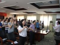 王若文老师2016年8月7日为粤祥天源集团讲授《目标计划与人才培育》课程