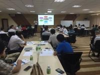 王若文老师2016年8月26-27日为海口市农工贸股份讲授《非HR经理的人力资源管理》课程完美结束!