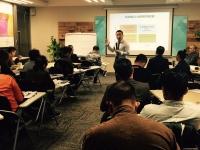 陈西君老师2016年11月24日为深圳合纵文化讲授《高效能人士的七个习惯》课程圆满结束!