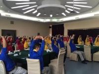 陈西君老师2016年10月6-10为山东淄博鲁泰纺织讲授《高绩效团队的建设与管理》课程圆满结束!