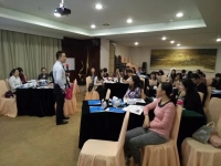 陈西君老师2016年10月12-13日为东莞移动讲授两天的《知人知心的沟通艺术 》课程圆满结束!