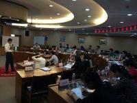 何叶老师10月16为中国人寿福建分公司讲授《顾问式销售技巧》