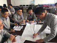 5月6号梁辉老师为青岛雷沃重工企业讲授《狼性营销实战训练营》课程圆满结束!