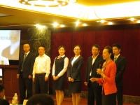 商务礼仪讲师-李泉老师10月16日为贵州农行讲授《金牌商务礼仪》