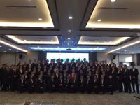 李泉老师11月24日为天津某公司讲授《金牌商务礼仪》