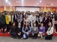 李泉老师3月7日为全棉时代讲授《幸福女人的三个维度》