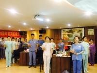 李泉老师4月25-26日为深圳泌尿外科医院讲授《金牌医患沟通与医护礼仪》