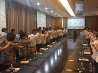 肖珂老师7月16日为天津博纳斯阀门集团讲授《金牌商务礼仪》课程圆满结束