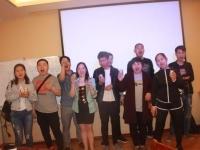 4月28日邹海龙老师为北京宜食一味公司培训《销售技巧》课程圆满结束!!