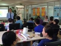 邹海龙老师6月9日给北京药采中心讲《情绪与压力管理》课程圆满结束!