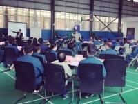 2017年5月12号王若文老师为云南天朗环保集团讲授《企业文化战略突破》圆满结束啦!