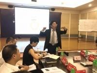 王若文老师受邀为某家居建材行业60多位总监级别高管讲授了一场激动人心的《高绩效团队建设与激励》课程!