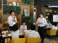 【杨文浩老师】7月30日为北京某房地产《新生代新员工职业化塑造》课程圆满结束!