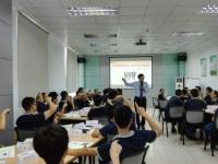 朱磊老师月7月7~8日为深圳某大型企讲授《TTT-企业内部培训师》课程