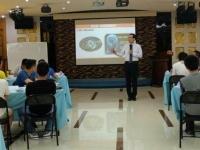 朱磊老师4月19号在广州给广东烟草讲授《管理沟通技能提升》的课程