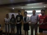 热烈庆祝邓雨薇老师6月23号在广州某内训讲授《公文写作》课程圆满结束!