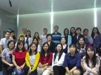 热烈庆祝邓雨薇老师5月22-23号在广东移动讲授课《互联网薪酬激励体系设计》课程圆满结束!