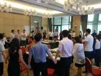 热烈庆祝邓雨薇老师5月21号在广东奥马电器股份有限公司讲授课《人力资源走势》课程圆满结束!