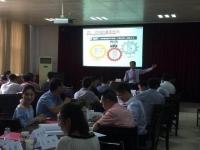 2017年9月23-24日【王若文老师】为金华中小企业讲授了一期《高层卓越领导力修炼》总裁班圆满结束!