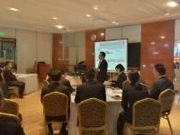王若文老师10月17日为武汉某企业讲授了一期精彩无比的《中高层卓越领导力修炼》