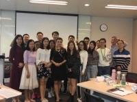 2017年11月2日肖珂老师在深圳某移动公司讲授《展会讲解技巧及服务礼仪》圆满结束