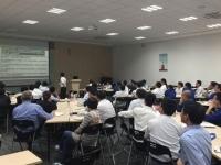 热烈祝贺8月3日徐正老师为上海地铁维护保障有限公司讲授《高效执行力与沟通技巧》课程圆满结束