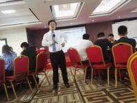 11月17日徐正老师为南宁某单位讲授《项目管理》课程圆满结束