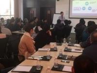 11月23日徐正老师在青岛讲授公开课《时间管理》课程圆满结束