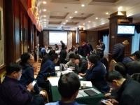12月14-15日徐正老师为青海省海南天和路桥工程有限公司讲授《工程建设项目管理》课程圆满结束