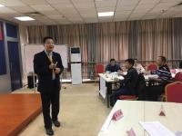 热烈祝贺李明仿老师11月11号给广西水利电力建设集团有限公司讲授《卓越现场管理与改善技能提升》圆满成功