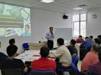 肖振峰老师2016年4月22-23日为福建新网锐捷通讯股份讲授《成功项目管理的6个法宝》课程