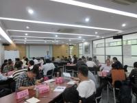 肖振峰老师2016年7月29日为深圳天健股份讲授《轻松做项目经理》课程