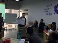 2017年2月13日 肖振峰老师为一家互联网公司讲授《《项目管理之实战工作坊》》