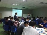热烈庆祝肖振峰老师12月14日给深圳某企业讲了一期《项目管理-把事情办成的能力》圆满结束!